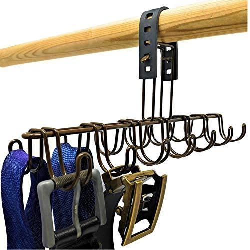 Belt Hanger, Scarf Organizer, Tie Holder, or Belt Rack for Closet