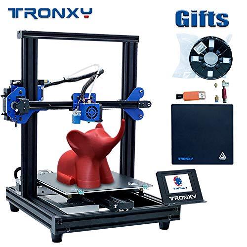 Aibecy TRONXY Kit d'impression 3D TRONXY XY-2 Pro Assemblage Rapide 255 * 255 * 260mm Augmenter Le Volume de Support Prise Reprendre Le Filament Détection 8G TF et Le Filament échantillon PLA 250g