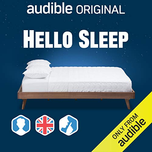 Hello Sleep: UK/Male/Silence Background cover art