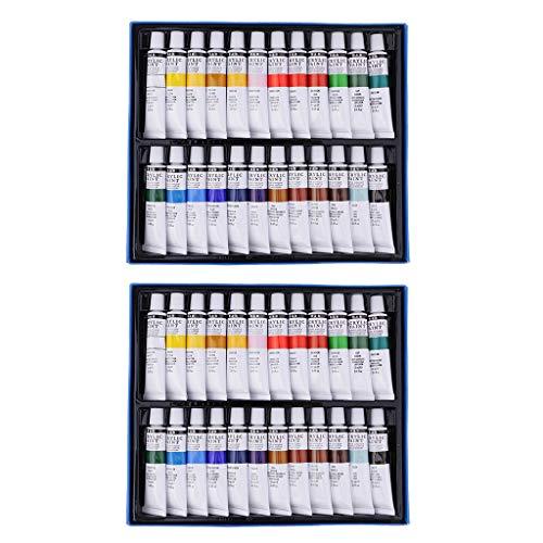 Colcolo 2 opakowania artystyczna farba akrylowa, płótno ceramiczne, glina, pigmenty barwne, narzędzia