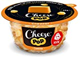 Cheesepop Cheddar, 100% Käse …überraschend knusprig & luftig! 12er Pack (12x65g) - high in protein, source of calcium, vegetarian, gluten free, no carbs, no preservatives, no coloring, keto friendly!