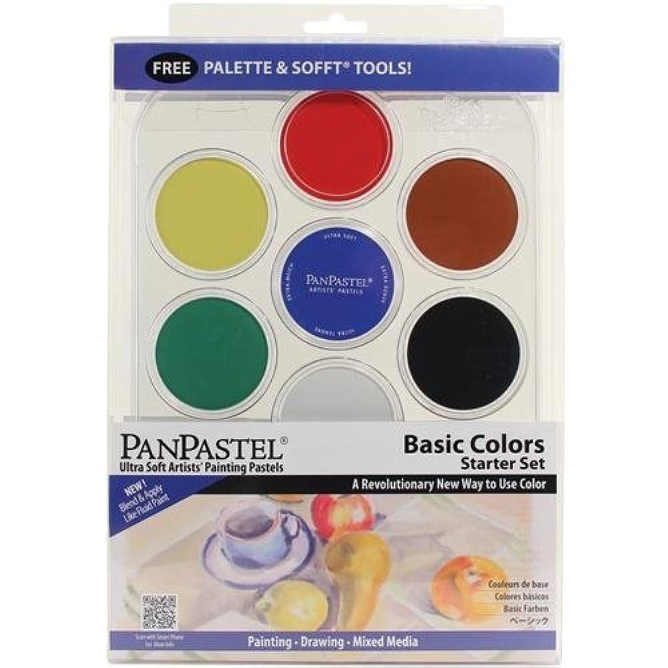 PanPastel 7 Color Basic Foundation Color Set