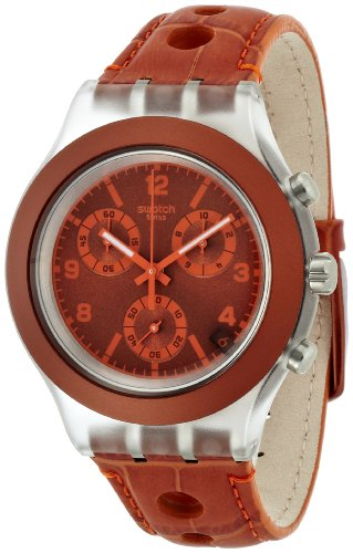 Swatch Reloj de Cuarzo Man Unisex Rouille 43.0 mm