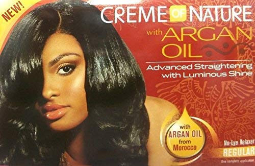 Relaxer/Lissage Crème Crème of Nature with Huile d'Argan Relaxer Regular