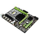 Placa Base con Tarjeta de Sonido de 6 Canales, Tarjeta de Red de 1366 Pines GB, Placa Base de Escritorio DDR3 Compatible con Memoria RECC Pro, Tarjeta de Red Gigabit RTL8111F con indicador Dual.