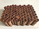 Wheat Penny Roll Old Coins Collection Rare Collectable Indian Head Copper Lincoln Cent Steel Mint Collector Vintage 1909-1958