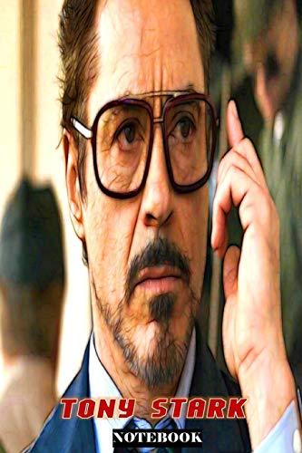 Tony Stark: Whatever It Takes ; Marvel Avengers Superhero Gift Notebook Journal 6 x 9 inches