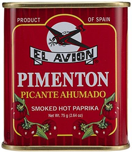 El Avion Pimenton Picante Ahumado, 1er Pack (1 x 75 g)