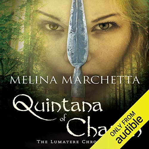 Quintana of Charyn audiobook cover art