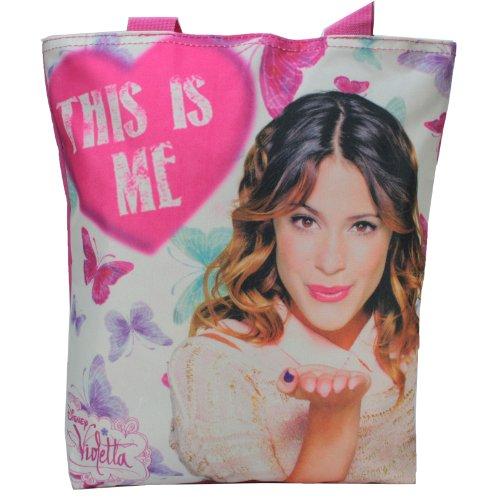 Disney VIOLETTA Damen Handtasche Damentasche Tasche Henkeltasche This is Me