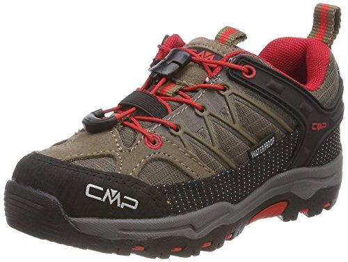 CMP Unisex-Kinder Rigel Trekking-& Wanderhalbschuhe, Beige (Tortora-Ferrari), 33 EU