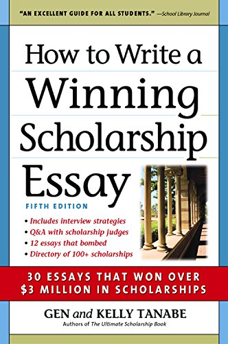 How to write essay for scholarship creative writing change