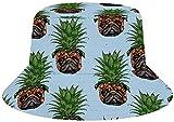 NA Sombreros de sarga de algodón, para pesca, caza, sol, viajes, diseño de piña, Hombre, color Carro de piña, tamaño talla única