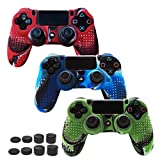 Skin Compatible for PS4 Controller Grips Cover Pandaren Studded...