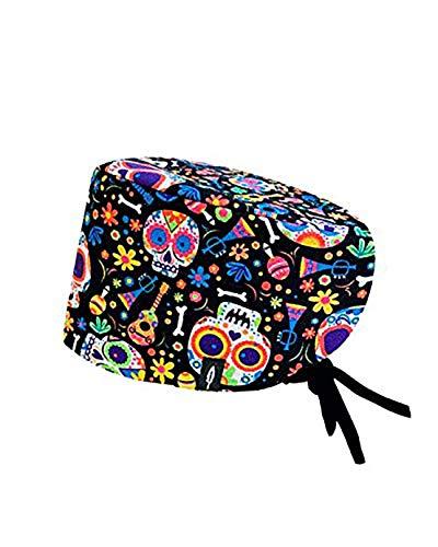 ROBIN HAT - Cuffie da sala Operatoria CATRINA - CAPELLI LUNGHI - 100% cotone (Autoclave) - Massima comodità