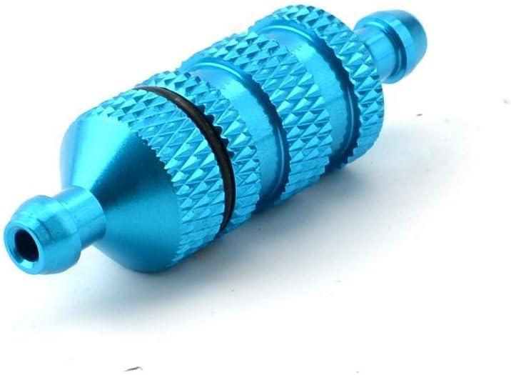 COOLSKY Blue Aluminum 02156 Popularity Fuel Upgrade Part Spare Max 71% OFF Nitro Filter