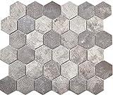 Mosaico esagonale in ceramica, cemento grigio scuro, parete per pavimento, cucina, doccia, bagno, piastrelle, piastrelle a mosaico