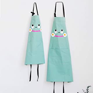 SEIFINI Kitchen Baking Apron for Mother and Me, Pure Cotton Mama and Daughter Aprons Set with Adjustable Neck Strap and Po...