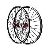 Ruedas de Bicicleta MTB 26 Pulgadas V Brake Ciclismo Pared Doble Aluminio Freno de Disco/híbrido 32 Hoyos para Volante...