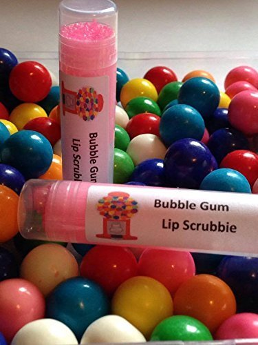Bubble Gum Flavored All Natural Exfoliating Lip Sugar Scrub .25 oz