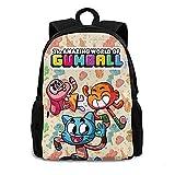 The Amazing World of Gumball - Mochila de viaje, ligera, de gran capacidad, multifunción, unisex, para adultos, jóvenes y niñas