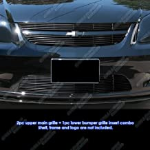 APS Compatible with 05-10 Chevy Cobalt SS Sport Black Billet Grille Insert Combo N19-H13876C