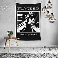タペストリー プラセボ ブルースプリスティン Placebo ピクニックテーブルカバーとカーテン 壁掛けタペストリー 寝室 壁掛け布 壁飾り ブランケット ビーチタオル 装飾 ウォール 吊り ビーチ タオル リビングルーム 部屋 窓カーテン 個 ベッドカバー カウチ 毛布