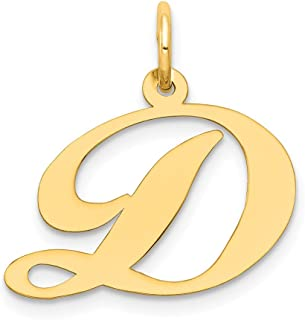 13 x 10mm 1 pcs of Gold Plated Small Triangle Initial Charm