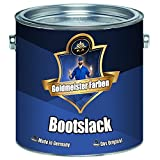 Goldmeister Farben Yacht Varnish Boat Paint for Wood and Metal Yacht Paint Boat Paint (5 L, Colourless (Matte)