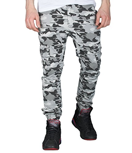 BetterStylz Chino jogger Cargo joggingbroek slim fit met zijzakken 4 kleuren (29-36)