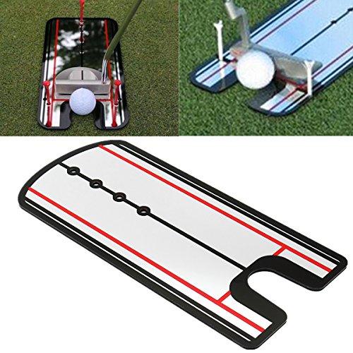 Miroir de mise en place de golf YOUTTOO - Correcteur de posture - Outil d'alignement