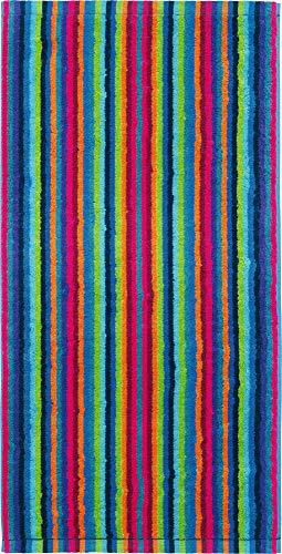 Cawö Home Handtücher Life Style Streifen 7048 Multicolor - 84 Handtuch 50x100 cm