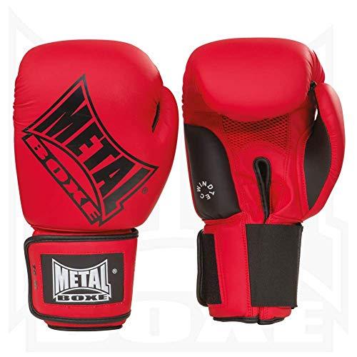 Metal Boxe MB221 Box-Handschuhe, Rot- 10 oz