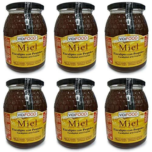 Miel de Eucalipto con Propóleo - 6kg - Producida en España