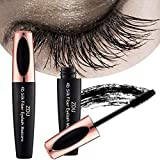 Best 3D Fiber Lashes - ZDU 4D Silk Fiber Eyelash Mascara Extension Makeup Review