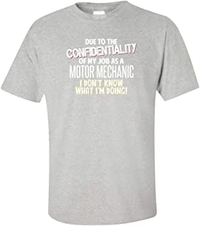 My Family Tee Motor Mechanic Don't Know What I'm Doing Funny Coworker Gift - Unisex T-Shirt