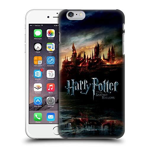 Head Case Designs Oficial Harry Potter Castillo Deathly Hallows VIII Carcasa rígida Compatible con iPhone 6 Plus/iPhone 6s Plus
