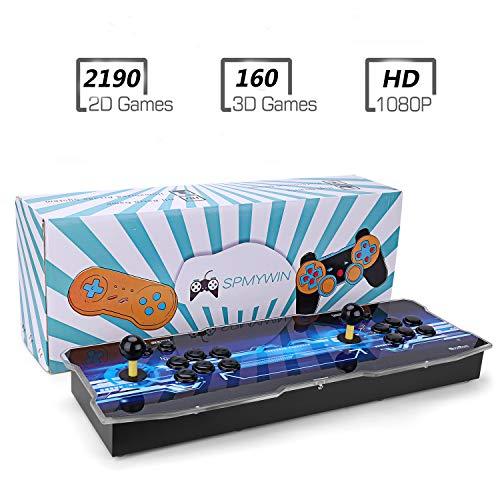 Spmywin 3D Pandora Key 7 2323 Juegos Retro Consola Portatil 1080P HD Maquina Arcade Retro Consolas Videojuegos CPU Avanzada Soporte Expandir Juegos 3D