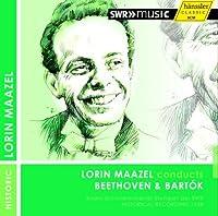 Lorin Maazel Conducts Beethoven & Bartok by Stuttgart Radio Sym Orch