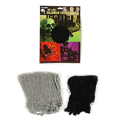 "Halloween Freaky Fabric Decoration 30"" X 60"" (Black)"