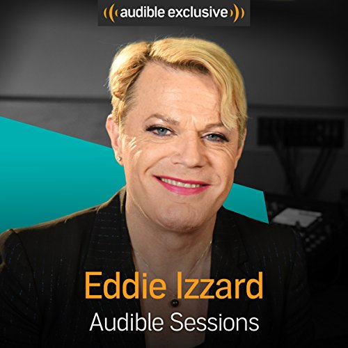 Eddie Izzard audiobook cover art