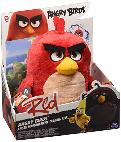Angry Birds Talking 30,5 cm Jouet en Peluche (Rouge)