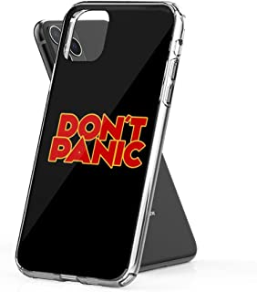 Crystal Clear Phone Cases Dont Panic - The Hitchhiker's Guide to The Galaxy Case Cover Compatible for iPhone (11 Pro)