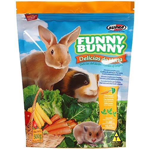 Funny Bunny Ração Para Coelhos E Pequenos Roedores 500 G