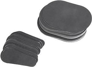 80pcs Refill Pads for Hair Remover Buffer, For Leg, Bikini,