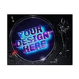Slipmats - Alfombrilla Personalizados con el diseño Que Quieras!! para Tocadiscos, Platos. Especial para DJs o Aficionados a los vinilos
