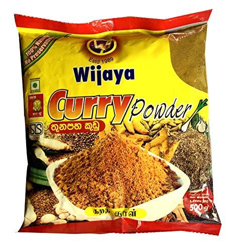 Wijaya Products Sri Lankan Curry Powder 500g (1.1lbs)