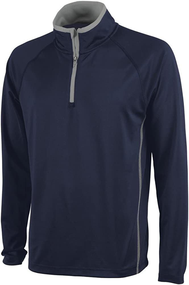 Charles River Apparel Men's Fusion Pullover Long Sleeve Quarter Zip