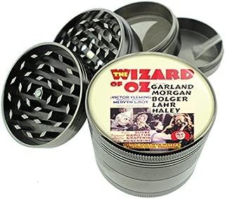 Wizard Of Oz 1939 Judy Garland Titanium 4 PC Magnetic Grinder 2.1