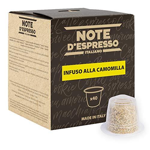 Note D'Espresso - Camomilla - Capsule Compatibili Soltanto con Nespresso* - Confezione da 40